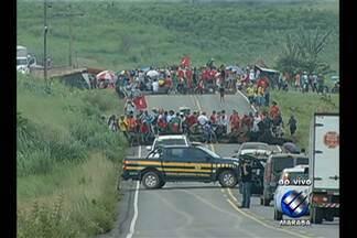 Interdição da BR-155 já está causando o desabastecimento em cidades da região sudeste - Em Parauapebas, começa a faltar combustíveis.