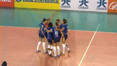Minas vence o Maranhão e, a segunda consecutiva, na Superliga Feminina de Vôlei - Time de Jaque contou com o talento de Mari Paraíba para bater as maranhenses