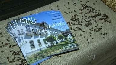 Revista sobre a região do Vale do Paraíba é lançada no Rio - A publicação quer divulgar os produtos da região do Vale do Café e estimular o turismo cultural.