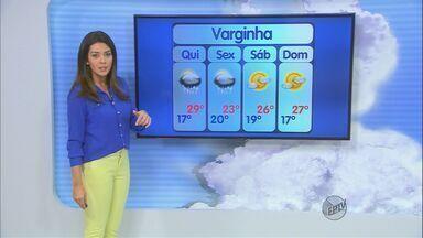 Confira a previsão do tempo no Sul de Minas para esta quinta-feira (4) - Confira a previsão do tempo no Sul de Minas para esta quinta-feira (4)