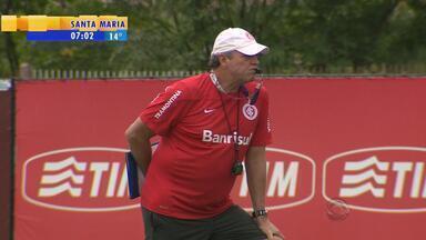 Inter treina forte para jogo decisivo contra o Figueira no sábado - RBS TV transmite ao vivo a partida.