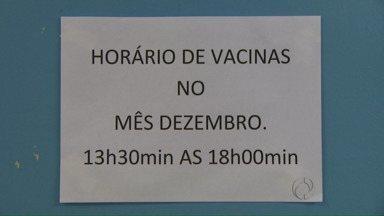 Secretaria de Saúde adapta horários de vacinação nos postos de Foz - A mudança aconteceu depois que alguns usuários não conseguiram vacinar os filhos.