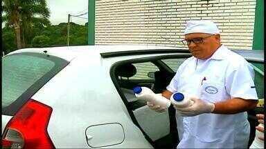 Mais de cem agentes participam de operação sobre fraude no leite - Até 40% do volume entregas às indústrias era água.