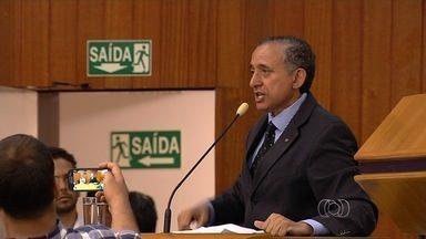 Anselmo Pereira (PSDB) é eleito presidente da Câmara de Vereadores de Goiânia - O primeiro vice será Tayrone Di Martino, do PT, e o segundo, Rogério Cruz, do PRB. A chapa foi eleita após a adversária retirar a candidatura.