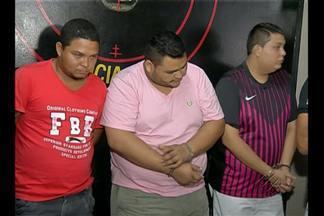 Presos suspeitos de matar oficial de justiça, em Belém - Quatro pessoas foram presas, entre elas um adolescente.
