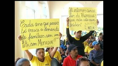 Ministério Público Estadual discute sobre habitação em Santarém - O atraso nas obras do PAC e outros problemas relacionados à habitação fizeram parte do debate.