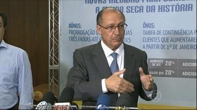 Governo decide multar desperdício de água e provoca reações em SP - Medida passa a valer a partir de janeiro de 2015.