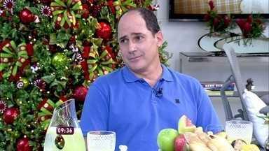 Ana Maria recebe o anfitrião André na Casa de Cristal - Ele comenta como foi o seu jantar com a apresentadora