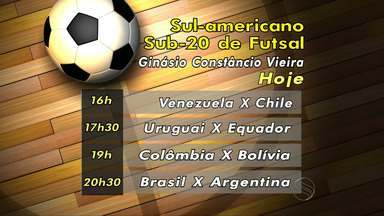 Brasil é favorito no Sul-Americano de Futsal Sub-20 - O Brasil é o favorito para vencer o Sul-Americano de Futsal Sub-20 que está sendo realizada em Aracaju.