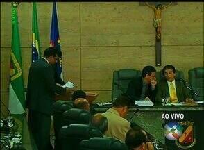 Vereadores se reúnem para votação da nova Mesa Diretora de Caruaru - Vereador Leonardo Chaves (PSD) foi eleito Presidente da Câmara de Vereadores pela oitava vez.