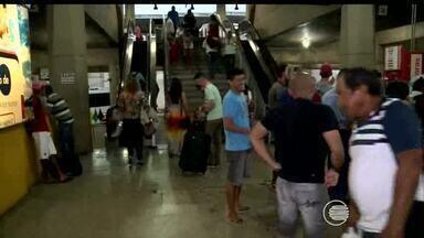Cresce o movimento no Terminal Rodoviário Lucídio Portela em Teresina - Cresce o movimento no Terminal Rodoviário Lucídio Portela em Teresina