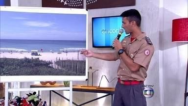 Comandante Glauco Motta dá dicas para evitar afogamentos - Ele comenta os perigo das correntes de retorno