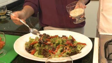Receitas para a ceia de Natal, Santa Maria, RS - Veja como preparar uma salada especial para a ceia de Natal.