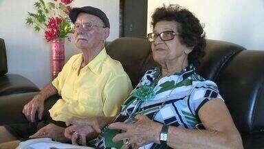 Casal do ES que realizou matrimônio no dia do Natal comemora 60 anos de união - Além do Natal, casal tem muitos motivos para comemorar.