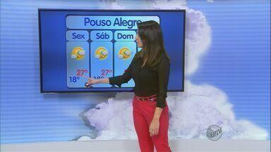 Confira a previsão do tempo no Sul de Minas para esta sexta-feira (26) - Confira a previsão do tempo no Sul de Minas para esta sexta-feira (26)