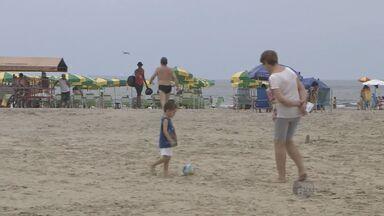 Saiba como está o clima nas praias do litoral de SP neste feriado prolongado - Saiba como está o clima nas praias do litoral de SP neste feriado prolongado