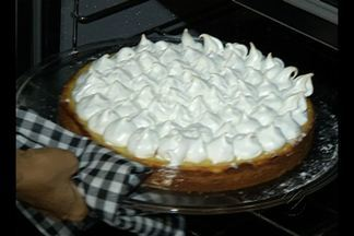 Confira a receita de torta feita por André Laurent - Doce leva polpa de cupuaçu e queijo cuia.