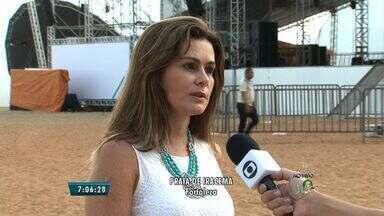 Um milhão de turistas devem visitar o Ceará durante alta estação - Daniela Mercury é uma das atrações do show da virada de Fortaleza.