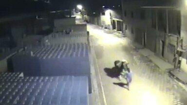 Polícia apresenta homem suspeito de roubar duas éguas na Região Centro-Sul de Minas - O suspeito roubou os animais em uma fazenda na cidade de Ferros. Ele foi preso dirigindo um carro roubado, com placa clonada.