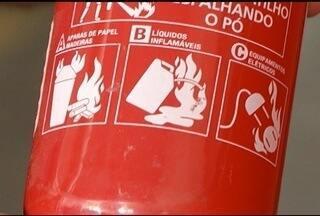 Motoristas devem ficar atentos com nova obrigatoriedade em extintores de incêndio - Prazo para troca do equipamento termina no dia 31 de dezembro.