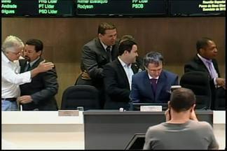 Nova mesa diretora da Câmara Municipal de Divinópolis é empossada nesta terça-feira - Rodrigo Kaboja assume hoje o legislativo numa reunião especial de posse.Esta é a primeira vez que a casa tem um presidente reeleito.