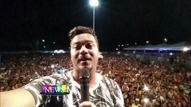 Sorriso Maroto fez seu primeiro show do ano em Cabo Frio - O Vídeo Show News acompanhou a apresentação do grupo