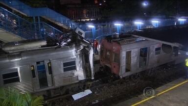 Polícia do RJ e agência reguladora investigam acidente entre trens - A colisão entre as composições, que deixou mais de 200 feridos, poderia ter sido evitada se já estivesse funcionando o sistema de freios de segurança, prometido para 2013.