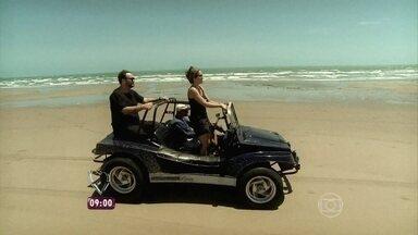 Cissa e André relembram viagens da semana no Mais Você Na Estrada - Jimmy e Nadia já estiveram no Delta do Parnaíba e no Pantanal