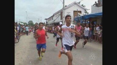 'Correndo e Pedalando rumo à felicidade' reúne atletas do Alto Solimões, no AM - Prova é realizada todos os anos em Santo Antônio de Içá