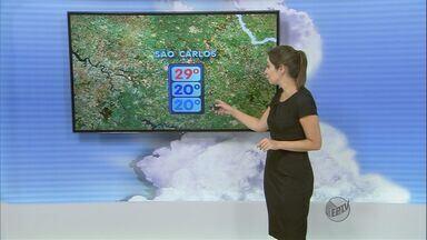 Confira a previsão do tempo para a região de São Carlos nesta quarta-feira (7) - Confira a previsão do tempo para a região de São Carlos nesta quarta-feira (7)