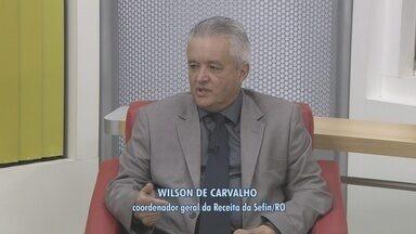 Bom Dia Amazônia entrevista coordenador da Receita sobre pagamento do IPVA 2015 - Wilson de Carvalho explica como pagar o imposto corretamente e as datas de vencimento.