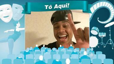 Léo Santana manda convite aos telespectadores do BMD - Veja o recado.