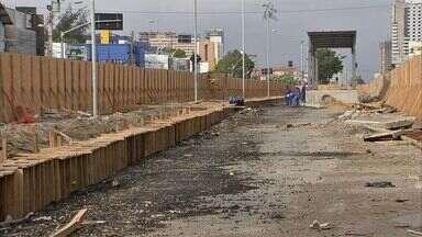 Estações de ônibus da Bezerra de Menezes devem ser concluídas apenas em março - Previsão inicial de conclusão eram novembro de 2014.