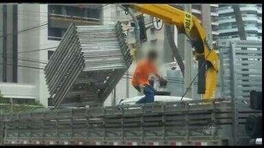 CETV mostra flagra de criança trabalhando com máquinas pesadas no Ceará - Procurador do Trabalho explica infrações envolvidas no trabalho irregular.