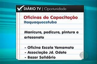 Fundo Social de Itaquaquecetuba abre inscrições para oficinas de capacitação profissional - As oficinas vão começar dia 23 de fevereiro e são gratuitas.
