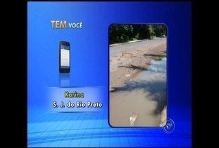 Internautas reclamam através do aplicativo TV TEM no noroeste paulista - Com a criação do aplicativo da TV TEM - que permite que os telespectadores nos enviem fotos e vídeos - muitas reclamações chegam todos os dias à redação de Tem Notícias.