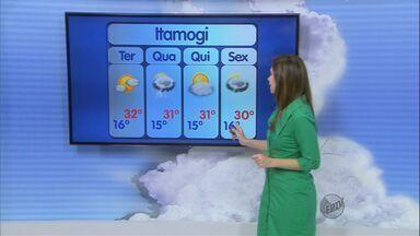 Confira a previsão do tempo no Sul de Minas para esta segunda-feira (12) - Confira a previsão do tempo no Sul de Minas para esta segunda-feira (12)
