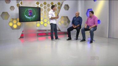 Luciano Gusso é o convidado no estúdio do GE para falar sobre os rumos do Paraná - Técnico bate um papo com Cristian Toledo sobre a preparação paranista e os primeiros passos no Paranaense
