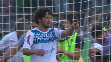 Londrina vive a expectativa do retorno do atacante Arthur - Tubarão segue a preparação para defender o título do Paranaense