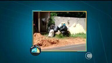 VC no PI TV: telespectador denuncia falta de coleta de lixo na Zona Rural de Teresina - VC no PI TV: telespectador denuncia falta de coleta de lixo na Zona Rural de Teresina