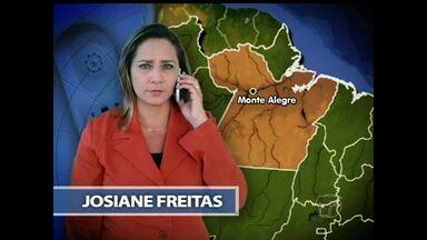 Dois morrem em acidentes de trânsito na zona rural de Monte Alegre - Um caiu da moto e quebrou o pescoço e o outro foi atropelado.