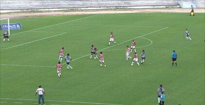 Botafogo-PB vence o Potiguar de Mossoró por 1 a 0 no Estádio Almeidão - Gol do Belo foi marcado pelo lateral-direito Toty, após cruzamento do lateral-esquerdo Alex Cazumba