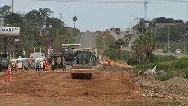 Trecho da BR-020 tem obra concluída sem sinalização - Motoristas devem trafegar no local com atenção redobrada.