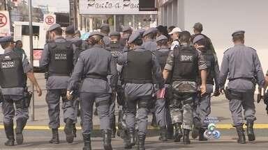 Polícia Militar planeja operações mensais - A Polícia Militar vai fazer uma vez por mês uma grande operação de repressão ao crime. A primeira ação foi neste fim de semana.