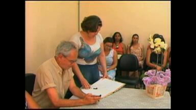 Nova Coordenadora de Educação é empossada em Rio Grande, RS - Janete Cardoso Pinto foi escohida para o cargo.