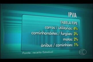 Proprietários de Uberlândia têm dúvidas sobre IPVA - Imposto começa a vencer na próxima segunda-feira. Cidade tem frota de quase 377 mil veículos.