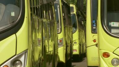 Rodoviários decidem segunda-feira se vão fazer greve ou não - Depois de greve-relâmpago e reunião, sindicato dos motoristas e cobradores de Foz do Iguaçu vai ter uma assembleia na segunda-feira.