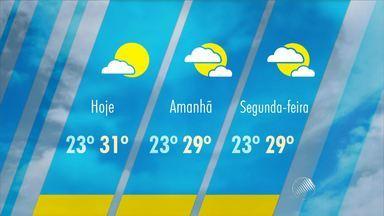 Veja a previsão do tempo para toda a Bahia - Sábado é de sol em Salvador e o tempo deve permanecer aberto por todo fim de semana.