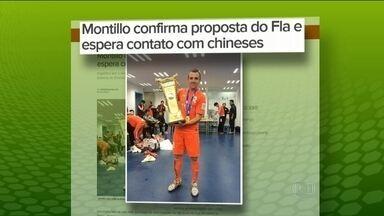 Mercadão do Esporte: Montillo recebe proposta do Fla; e Tardelli segue para time chinês - Cruzeiro contrata colombiano; e Vitinho já treina com o Internacional.
