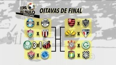 Copinha: Palmeiras é o primeiro classificado para as quartas de final - Time paulista venceu por 3 a 1 o Ituano.